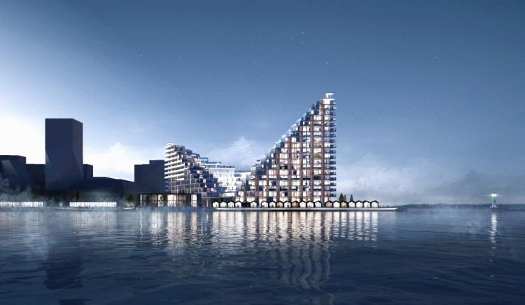 BIG-boliger i Aarhus revet væk og snart klar til indflytning