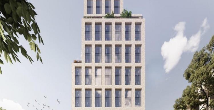 A. Enggaard bygger 18 etager i Aarhus
