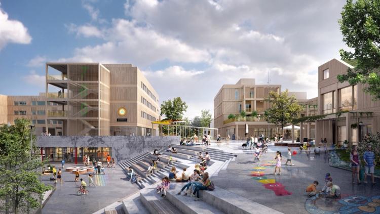 Arkitema skal omdanne lufthavnsområde til ny bydel
