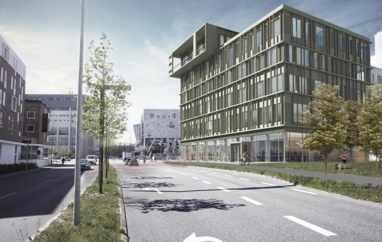 Jyske Bank i Aalborg flytter til 1.100 kvm i kommende nybyggeri
