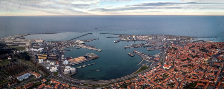 MT Højgaard Danmark skal fremtidssikre Rønne Havn for 300 millioner