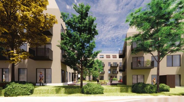 Lokal investor bag 58 nye lejeboliger i Haderslev