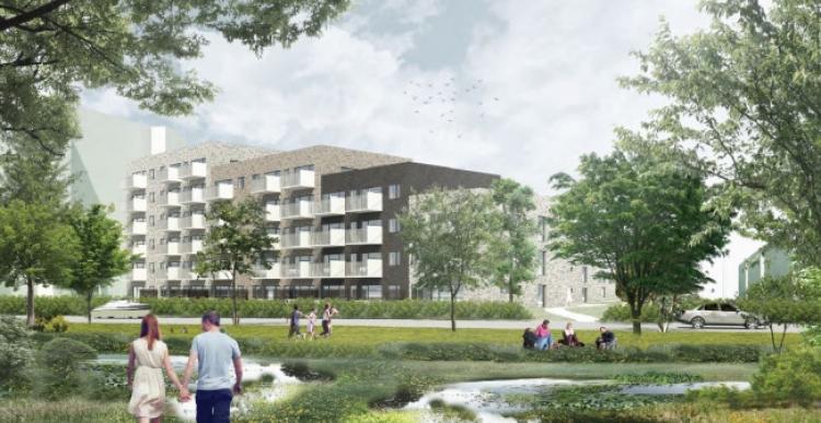 Heimstaden bygger 132 boliger til DGNB Guld i Esbjerg