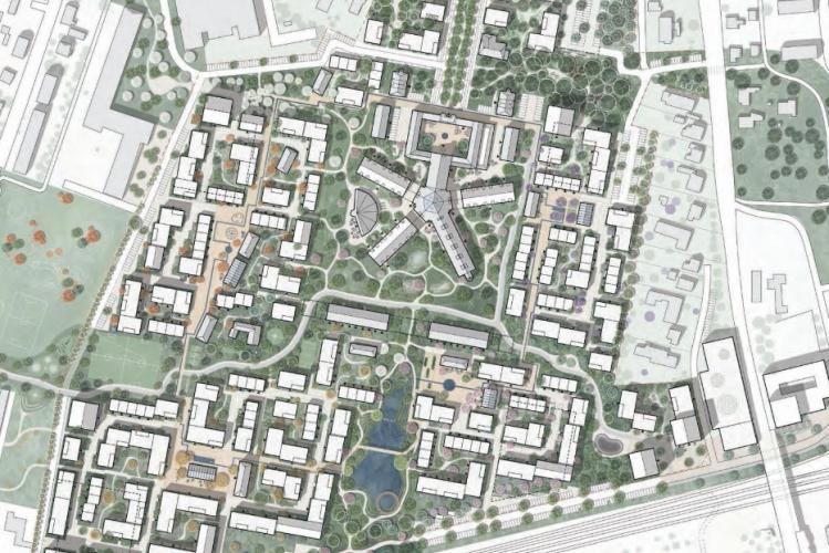 Arkitektkonkurrence om 160.000 kvm grund i Albertslund er afsluttet