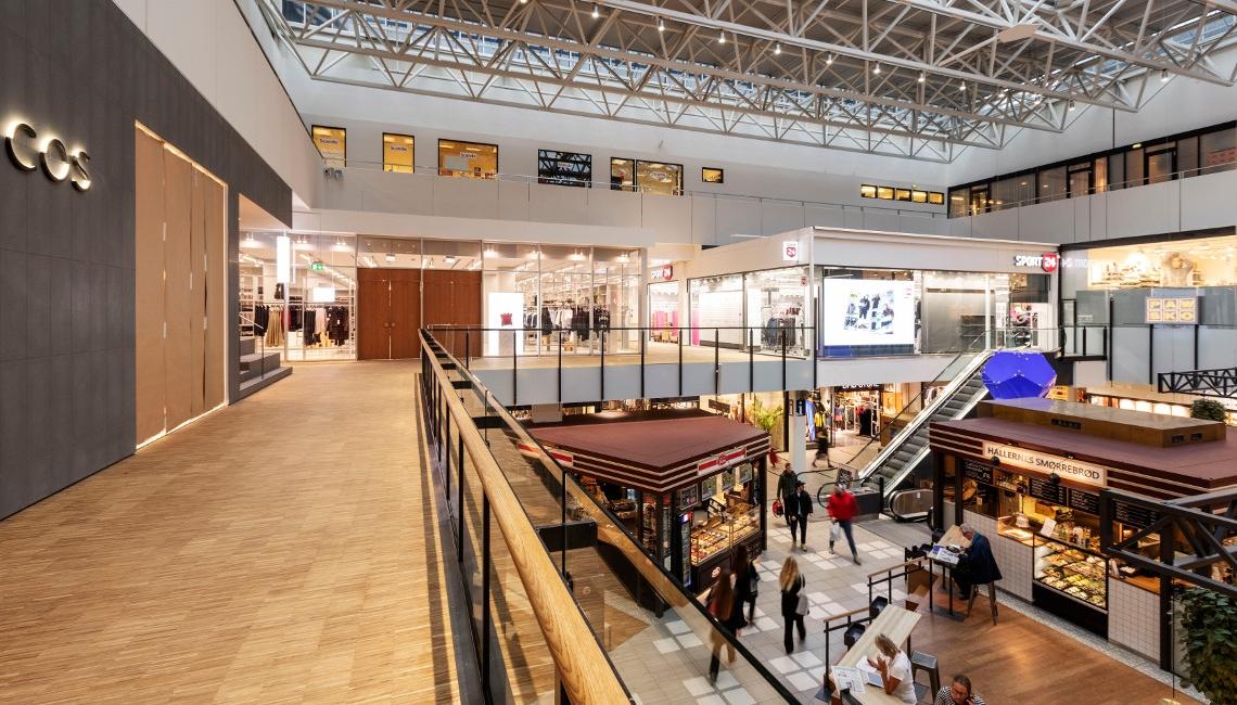 Nu åbner to flotte butikker Lyngby Storcenter