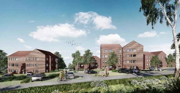 Pensionskasse får grønt lys til 9.000 kvm boliger i Kalundborg