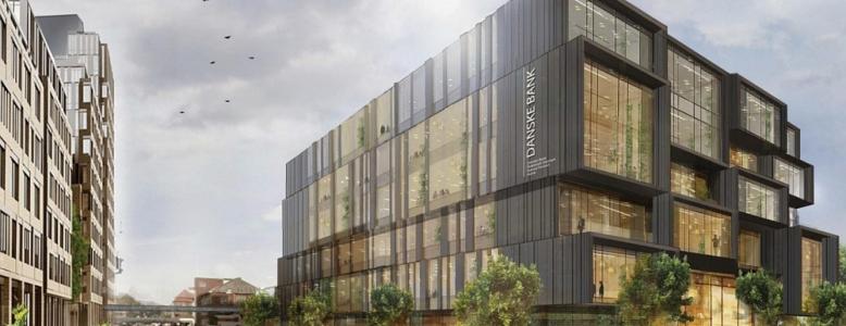 Danske Bank bygger 11.000 kvm domicil i Aarhus