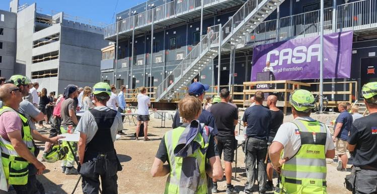 Rejsegilde på 37.440 kvm boligprojekt på Vestegnen