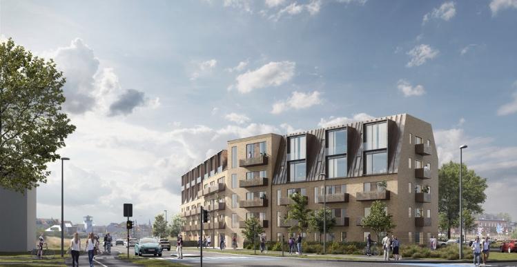 Bostad vil bygge 47 lejligheder i Nyborg