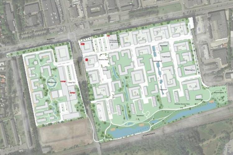 Coop vil bygge 1.700 boliger i Albertslund