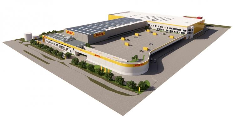 Logistic Contractor bygger 27.500 kvm for DHL i Københavns Lufthavn
